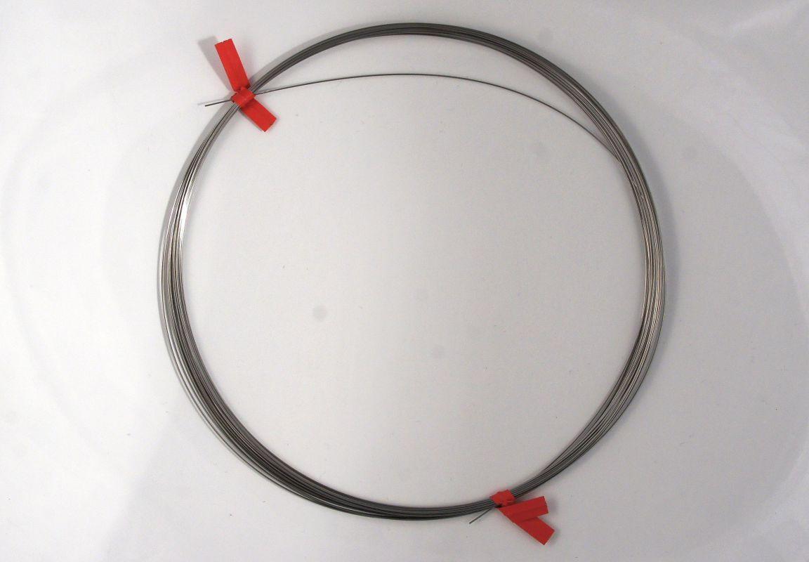 Ocelový drát, díl na třpytku