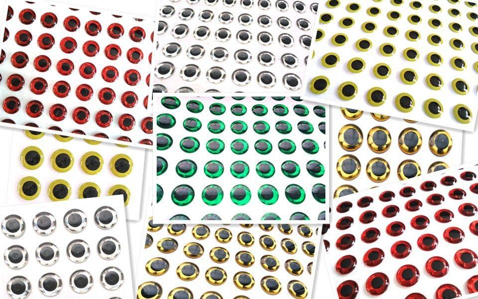 Samolepicí 3D oči