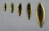 Křidélko WILLOWLEAF, mosaz-kované