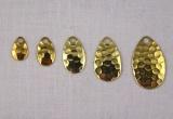 Křidélko INDIANA, mosaz-kované