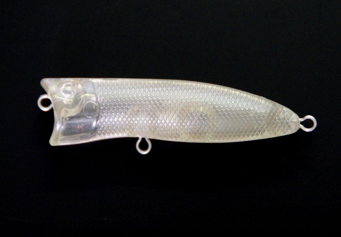 Wobler pop plast nebarvený polotovar přívlač nástraha