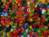 Korálek transparentní mix barev 4,1mm