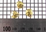 Křidélko díl lístek třpytka - Křidélko COLORADO velikost 1, mosaz-kovaný
