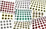 Nalepovací 3D oči 3mm, 10ks