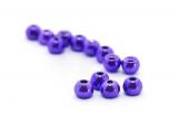 Wolframový korálek met. purpurový 3mm